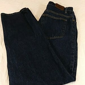 LL Bean Double L Relaxed Fit Jeans Sz 12 M/T